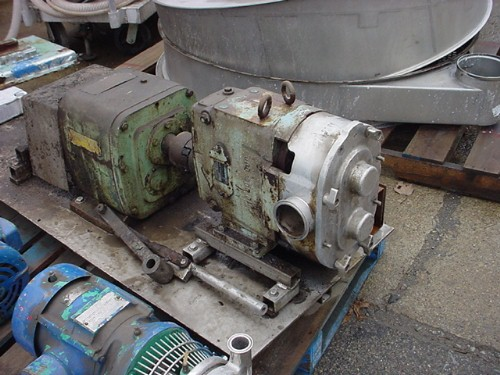 Image 3in WAUKESHA 130 Displacement Pump - Sanitary, Stainless Steel 677016