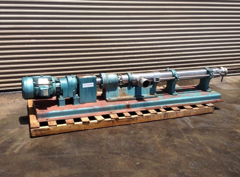 Image 10 HP MOYNO 3TG8-SSL Stainless Steel Progressive Cavity PD Pump 677034