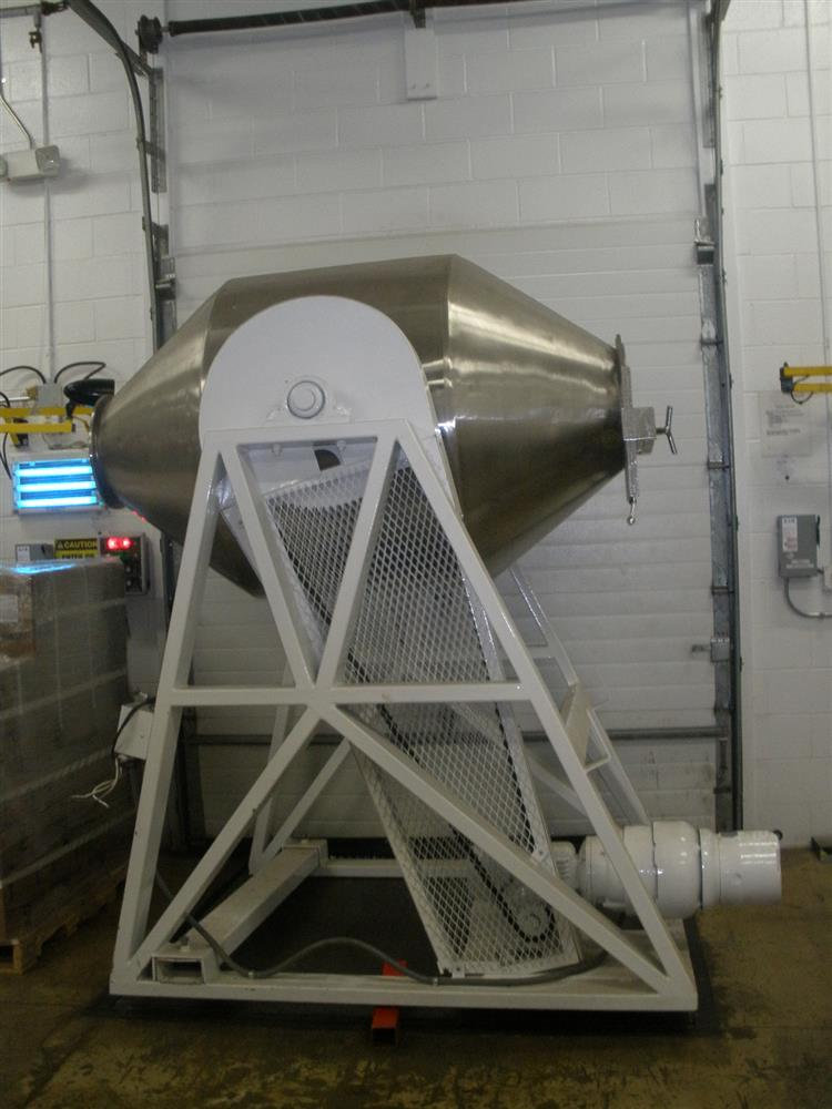 Double Cones Dryers Tumblers ~ Gemco double cone tumbler b for sale used