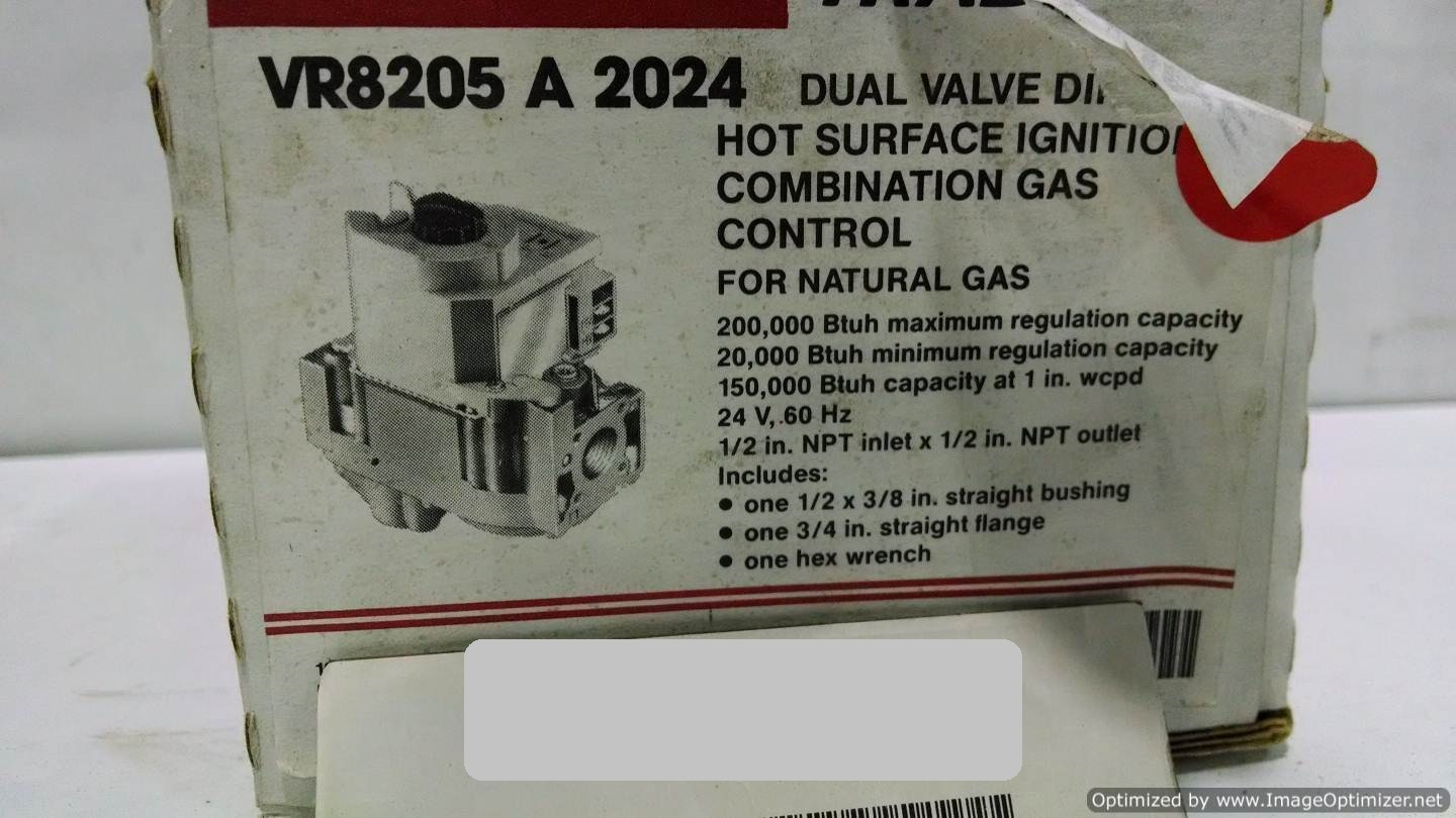 Image HONEYWELL VR8205A-2024 Valve (LOT of 7) 677105
