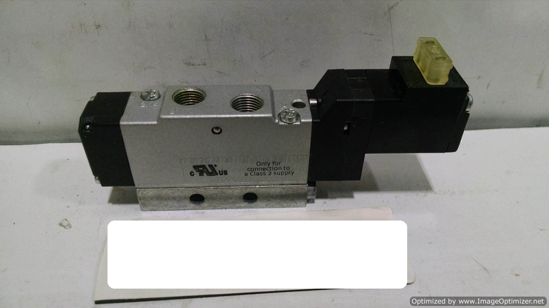 Image FESTO MEH-5/2-1/8-B Solenoid Valve (LOT of 4) 677109