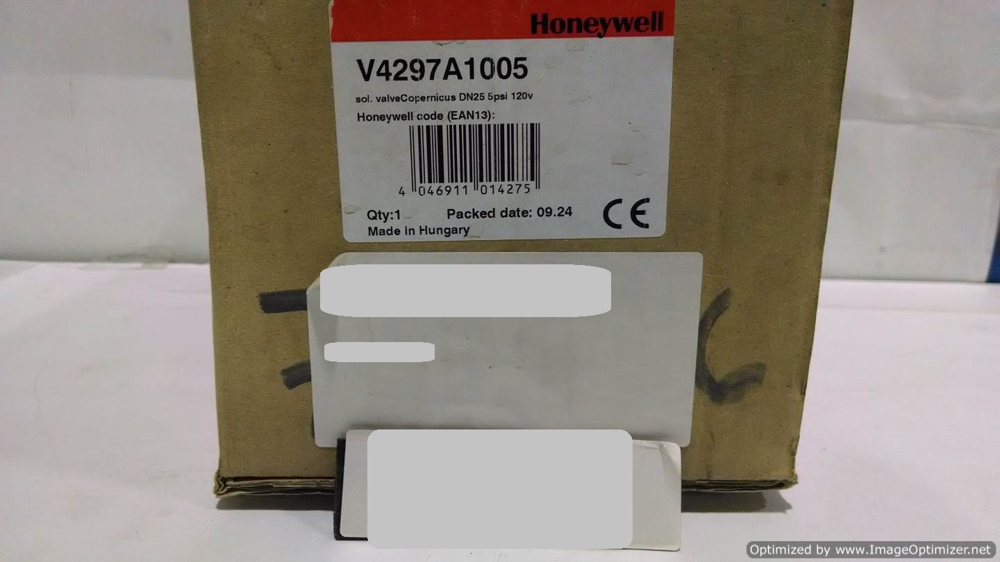 Image HONEYWELL V4297A1005 Solenoid Valve (LOT of 2) 677115