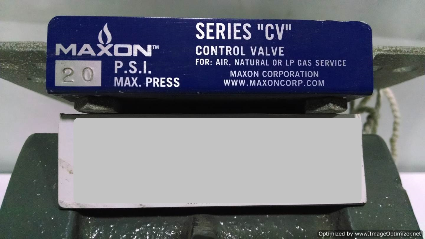 Image MAXON Series CV Valve (LOT of 2) 677129