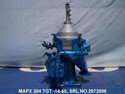 Image ALFA LAVAL MAPX 204 Oil Centrifuge Separator 677168
