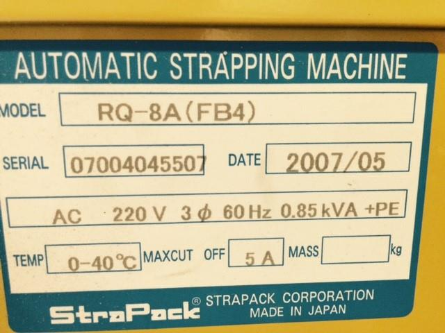 Image STRAPAK RQ-8A Fully Automatic Strapping Machine 677492