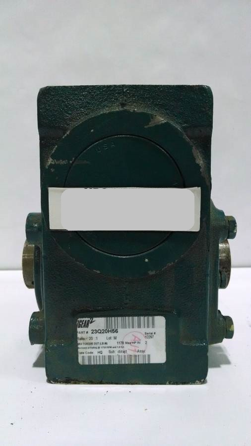 Image ABB 23Q20H56 Gearmotor (15 Available) 678495