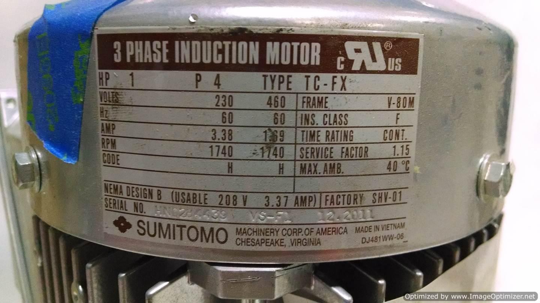 Image RNYM1-1320YA Gearmotor  678521