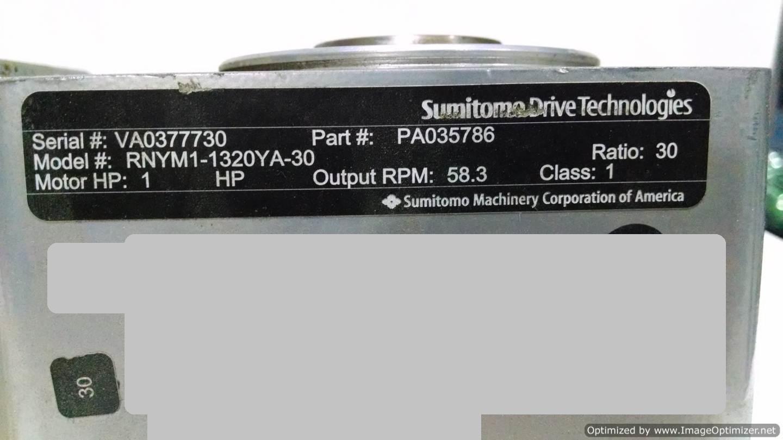 Image RNYM1-1320YA Gearmotor  678522