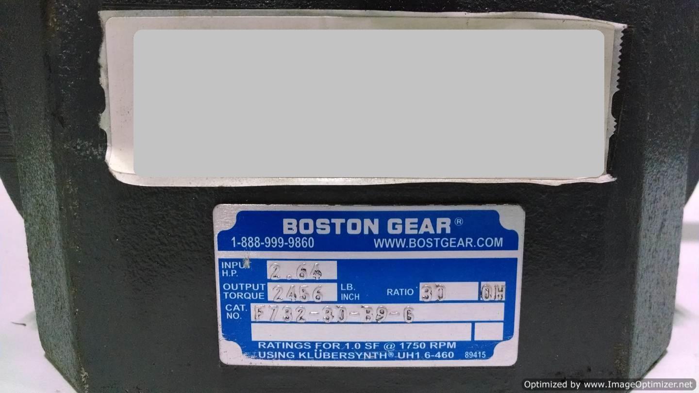 Image BOSTON GEAR F732-30-B9-G Gearmotor  678526