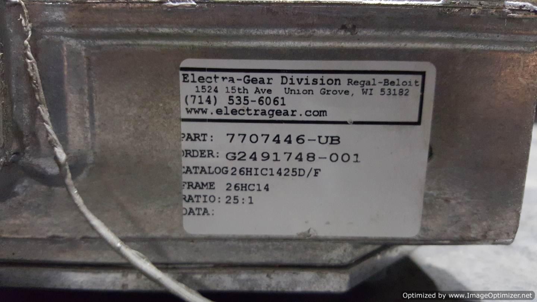 Image ELECTRA 26HIC1425D/F Gearmotor  678531