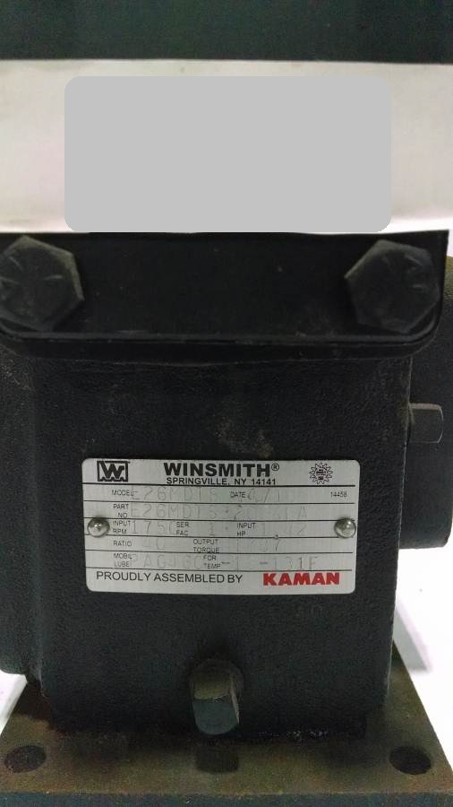 Image WINSMITH 926MDT3200GFA Reducer (4 Available) 678551