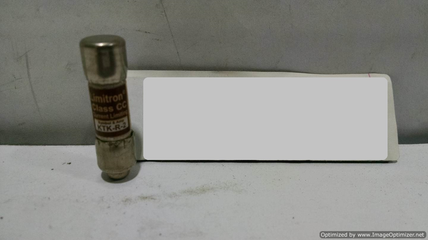 Image BUSSMANN KTK-R-2 Fuse (Lot Of 27) 678608