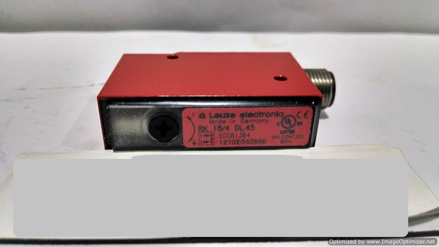 Image LEUZE RK18/4DL.45 Photoelectric Switch (Lot Of 3) 678612