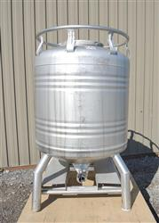232180 - 211 Gallon Stainless Steel Tank, ''Aseptic'' Sanitary Tote