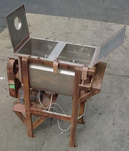 Image 14 Cu/Ft Total Capacity, Stainless Steel, Jacketed, Double Ribbon Blender 679865