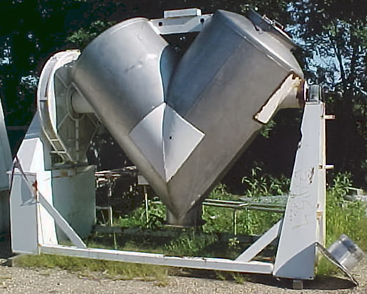 Image PATTERSON-KELLEY 75 Cu/Ft Wc Stainless Steel Twin Shell Blender 679848