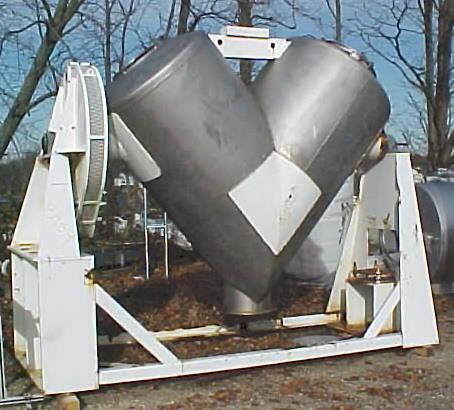 Image PATTERSON-KELLEY 75 Cu/Ft Wc Stainless Steel Twin Shell Blender 1337569