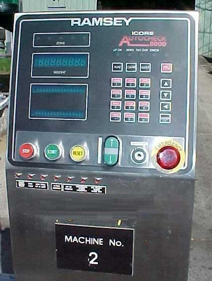 Image RAMSEY ICORE Pharmaceutical Grade Check Weigher 1077327
