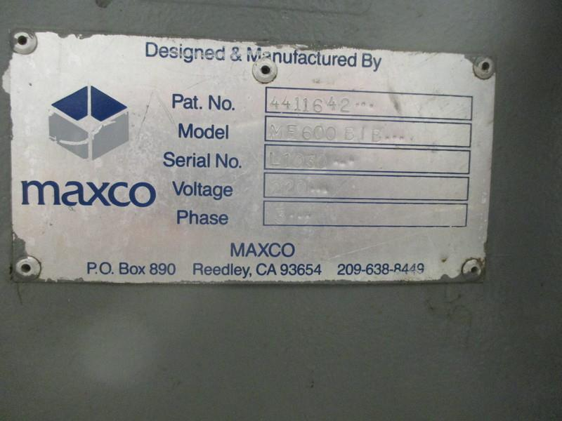 Image MAXCO ME 600 BIB Box Erector 680117