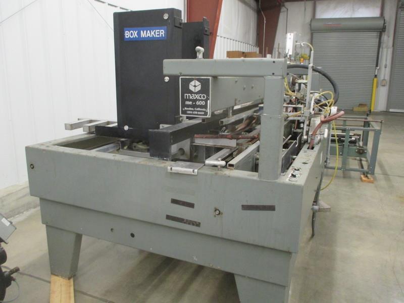 Image MAXCO ME 600 BIB Box Erector 680120