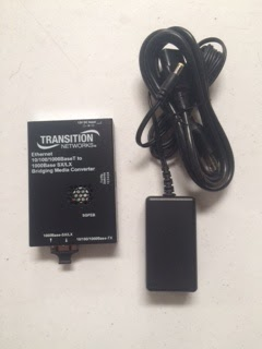 TRANSITION NETWORKS SGFEB10xx-1xx Media Converter (Good)
