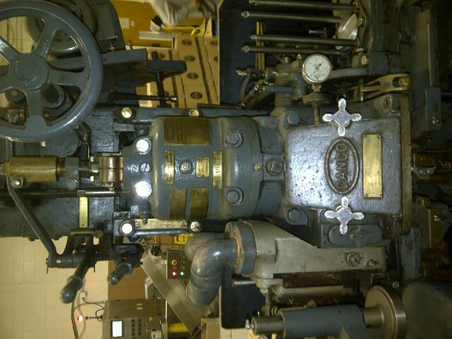 Image CANCO 006 Can Seamer With Vacuum Pump 1120273