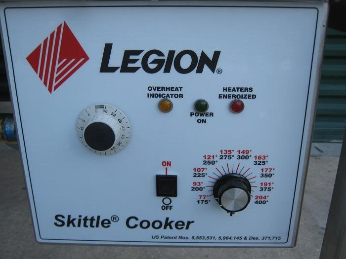 Image LEGION SKG 15-9 Gas Skittle Tilt Skillet Kettle 680736