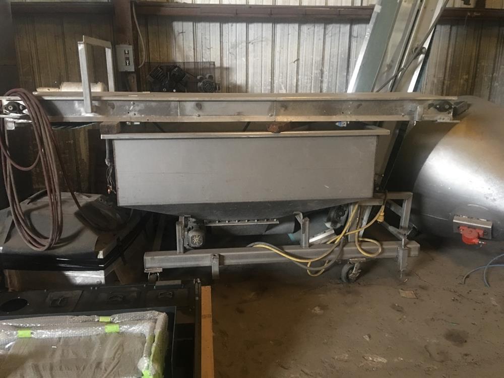 Image 1600 LB OSHIKIRI HMP1600 Horizontal Bar Mixer 845578
