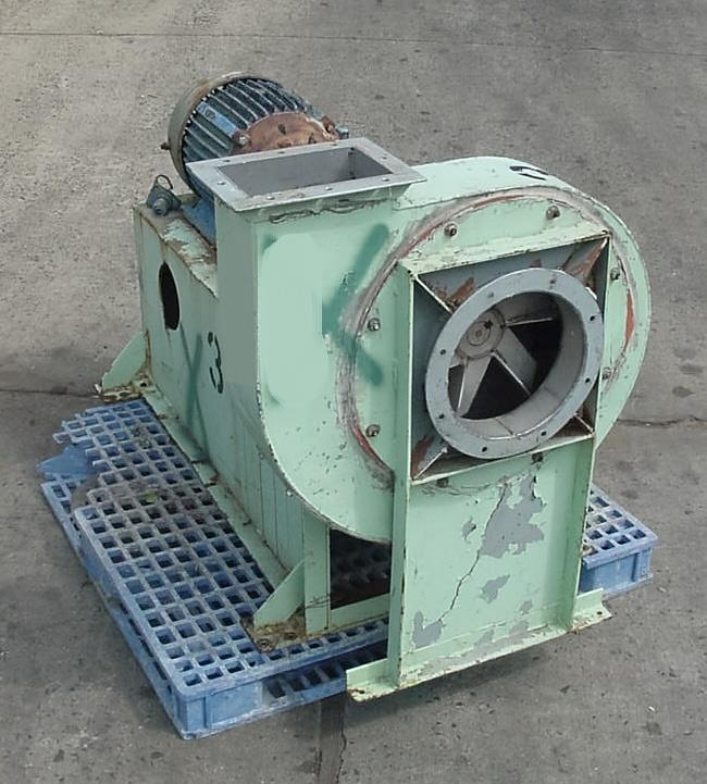 Image 25 HP HARTZELL Direct Drive Paddle Wheel Blower - Stainless Steel  774561