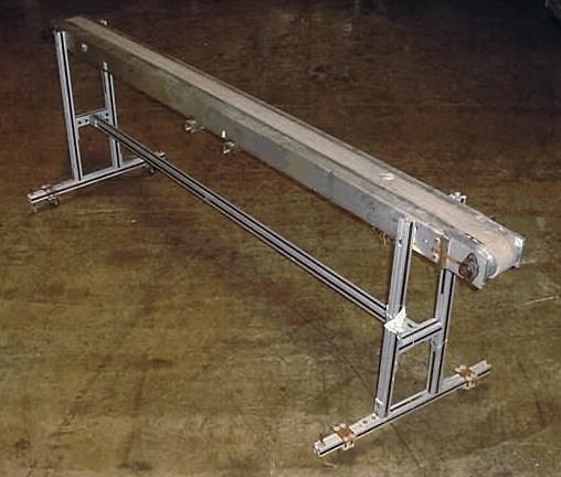 Image 3 W X 102 L Slider Type Belt Conveyor 754668