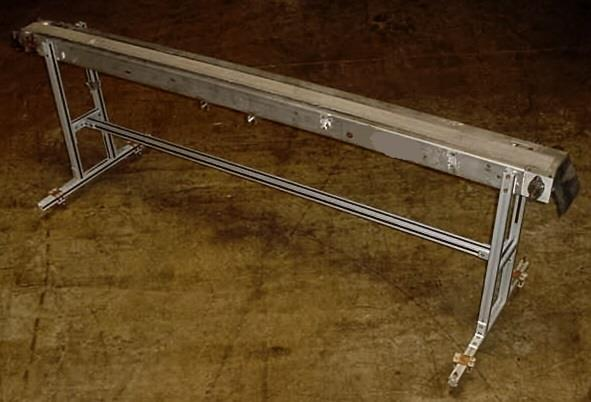 Image 3 W X 102 L Slider Type Belt Conveyor 754669