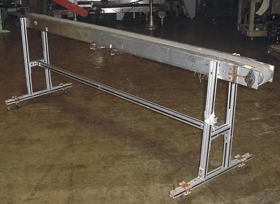 Image 3 W X 102 L Slider Type Belt Conveyor 754672