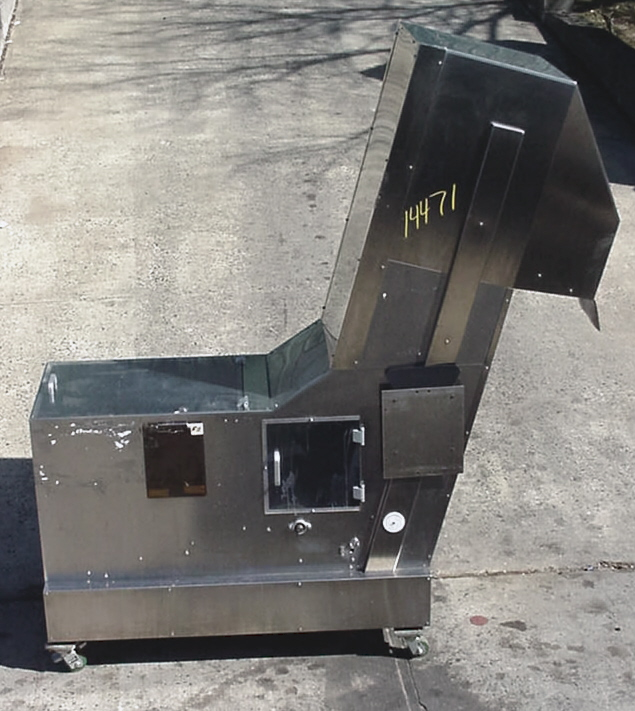 Image OZAF Cleated Inclined Belt Conveyor 680750