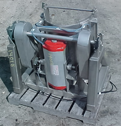 Image TOTE SYSTEMS Stainless Steel Sanitary Food Grade Drum Dumper 680806