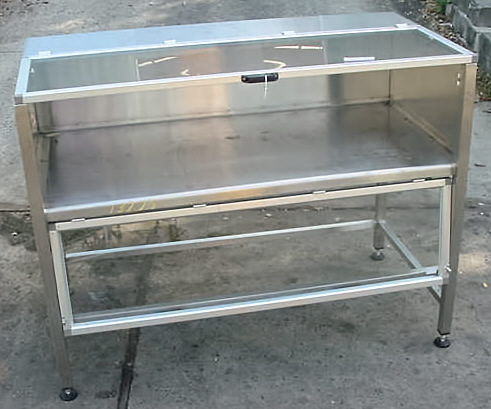 Image Stainless Steel Jacketed Enclosed Chill Table 680817