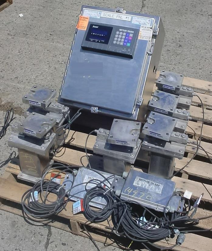 Image METTLER TOLEDO Eight Weigh Cell Scale System 1069728