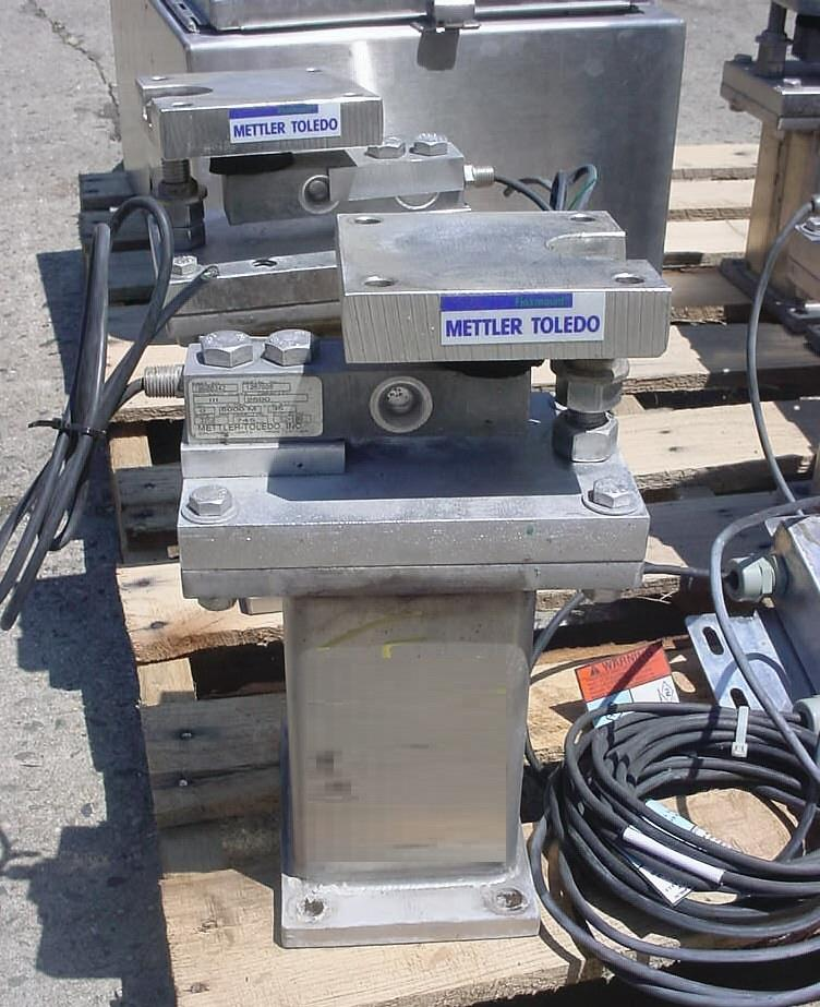 Image METTLER TOLEDO Eight Weigh Cell Scale System 1069729