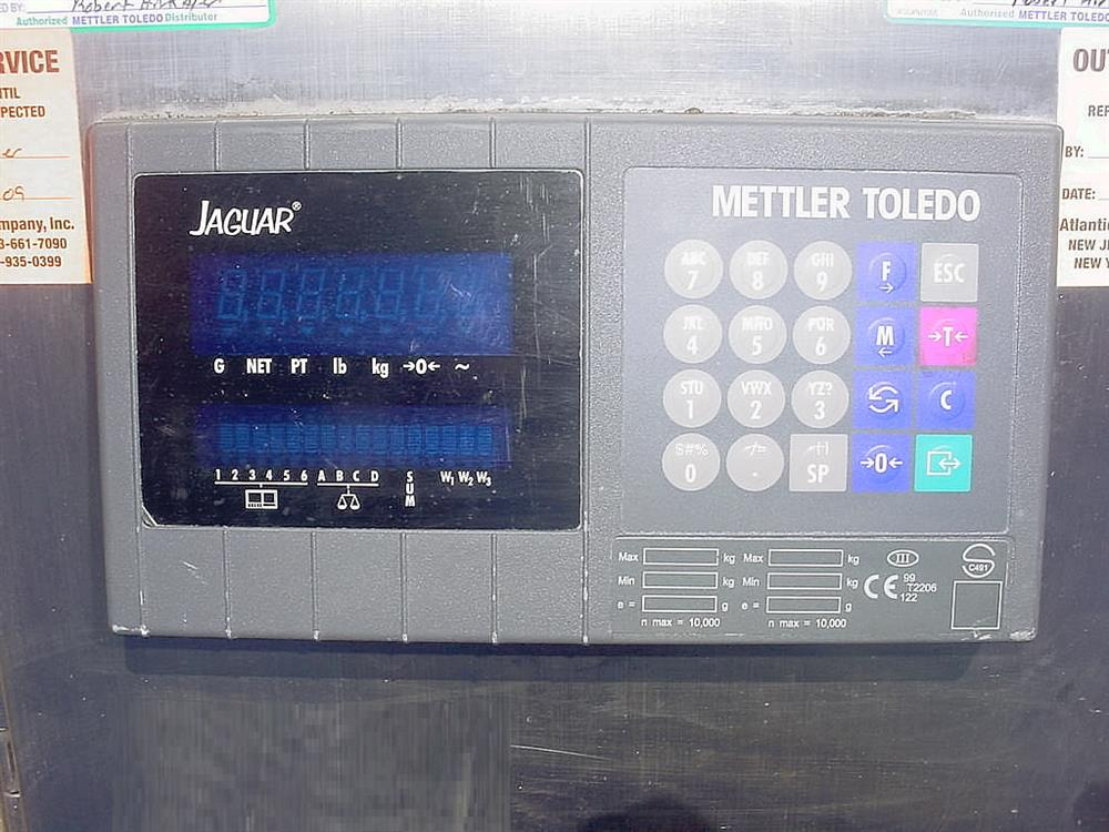 Image METTLER TOLEDO Eight Weigh Cell Scale System 1069731
