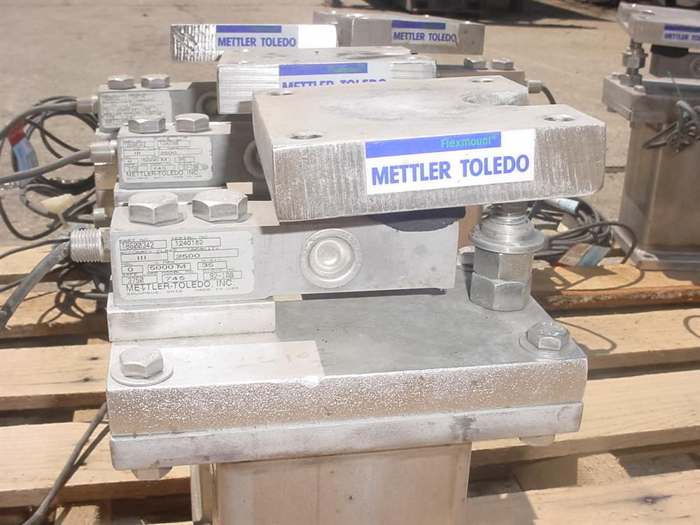 Image METTLER TOLEDO Eight Weigh Cell Scale System 1069733