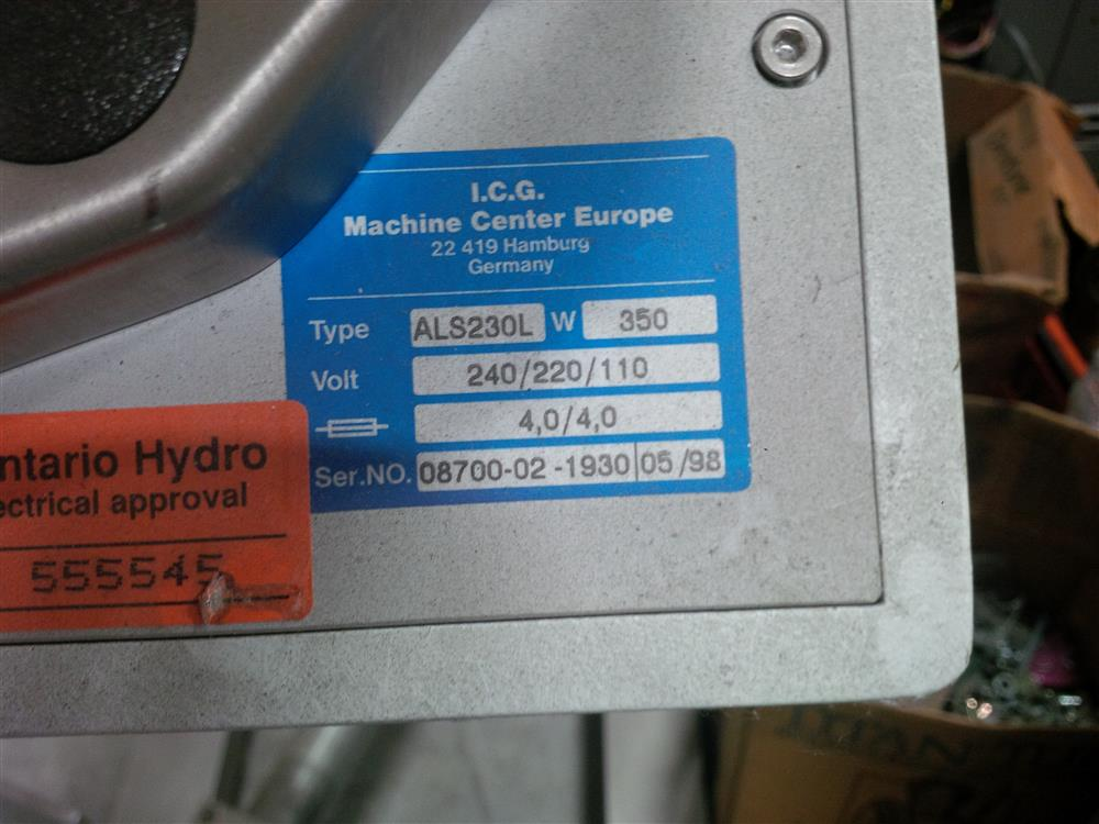 Image CCL ALS230L Pressure Sensitive Wipe-on Labeler 680851