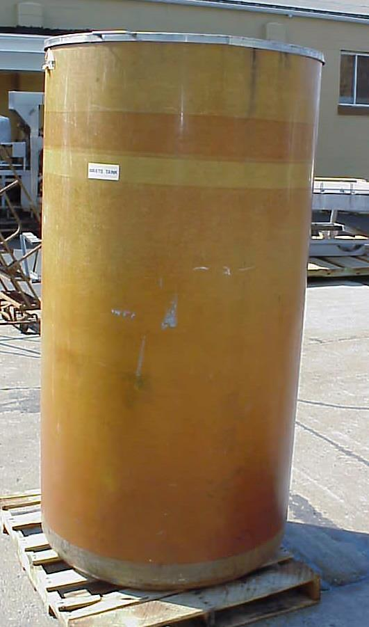 Image 425 Gallon Open Top Vertical Fiberglass Tank 759169