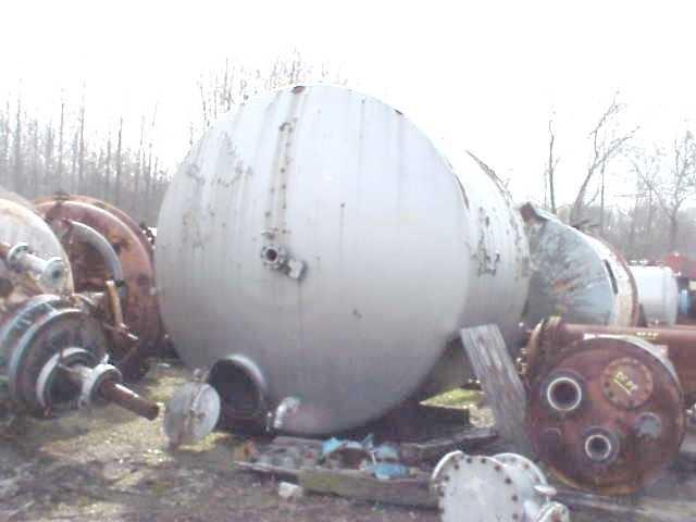 Image PFAUDLER 5000 GAL Vertical Glass Lined Carbon Steel Tank 888020
