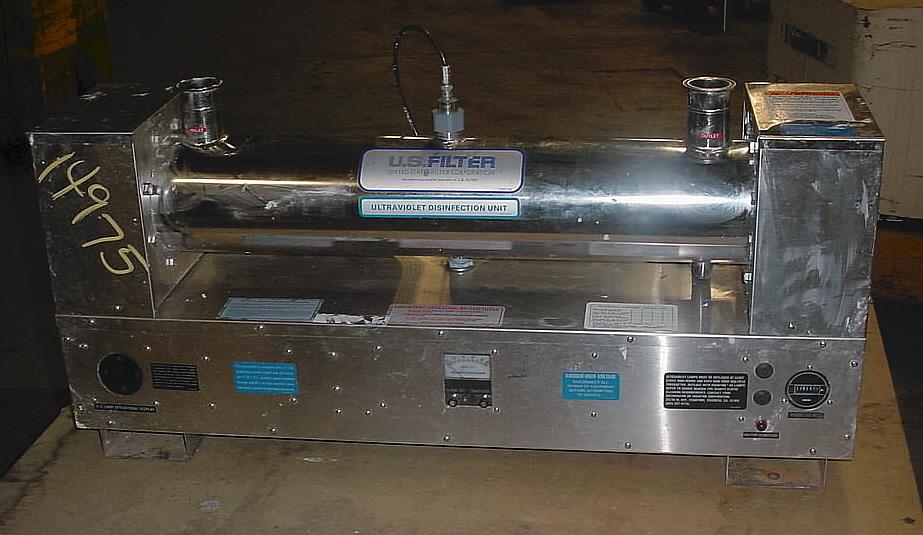 AQUAFINE CORP Ultraviolet Continuous Liquid Sterilizer