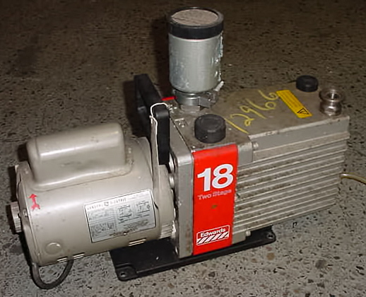Image EDWARD HIGH VACUUM Two Stage Rotary Vacuum Pump 680881
