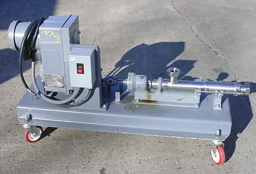 Image ROBBINS AND MYERS  Stainless Steel Sanitary Moyno Pump 680890