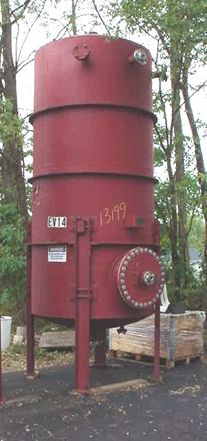 Image UNION CARBIDE 1400 GAL Vertical Closed Top Pressure Rated Storage Vessel 680926