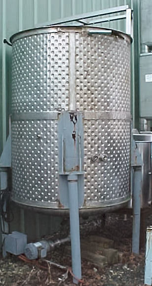 Image 700 GAL Stainless Steel Sanitary Vertical Open Top Tank 680957