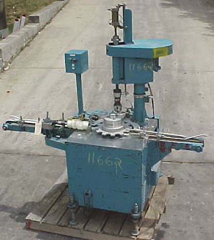 Image Single Station Semi Automatic Japanese Made Capper 680979
