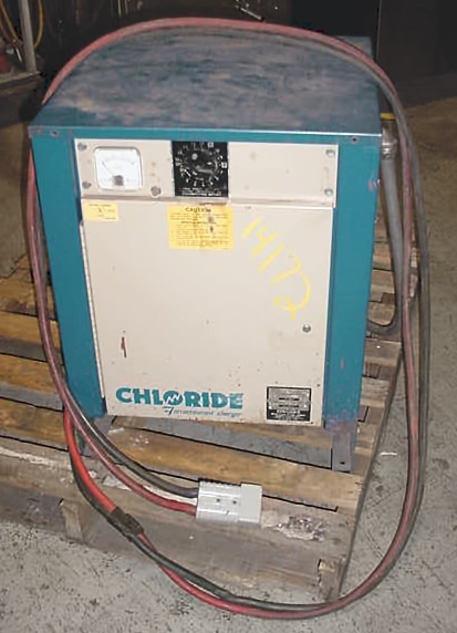 Image CHLORIDE ELECTRO NETWORKS 24 V Fork Lift Battery Charger 680999