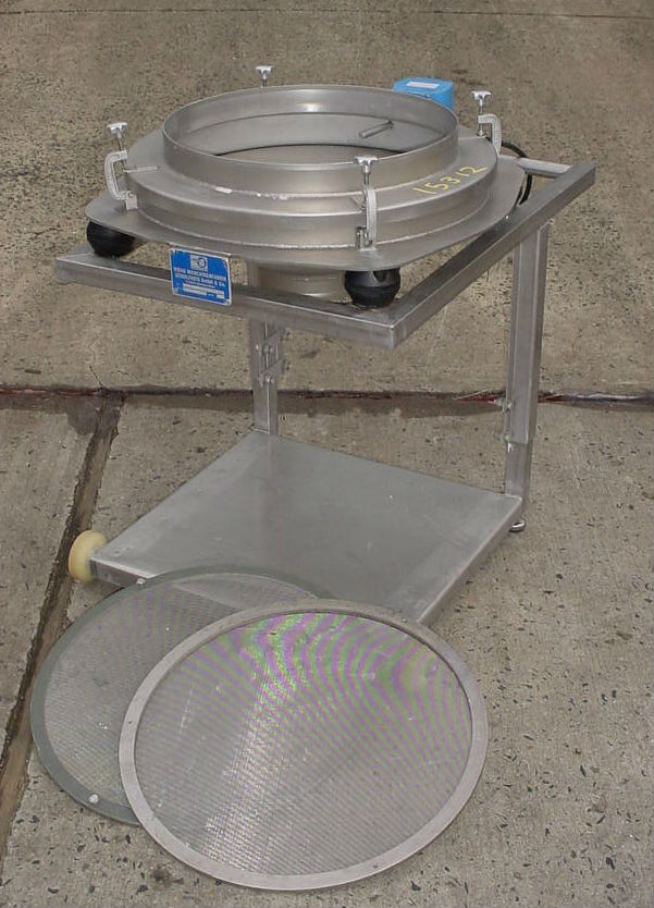 Image Stainless Steel Pharmaceutical Grade Single Deck Delumping Sifter 681007